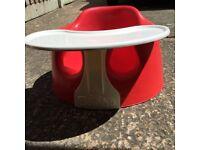 Bumbo baby seat & play tray