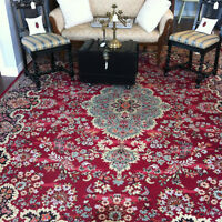 Large selection of vintage and antique rugs