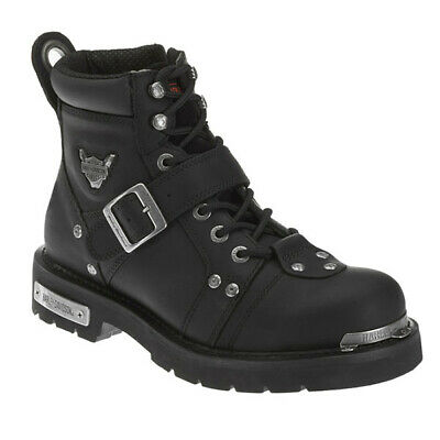 Leather Buckle Boot - Harley-Davidson Mens 6