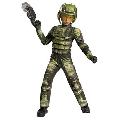 Operation Rapid Strike Red Sector Foot Soldier Muscle Boys Costume | Disguise](Foot Soldier Costume)