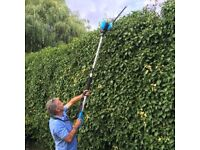 Extending Electric Hedge Trimmer