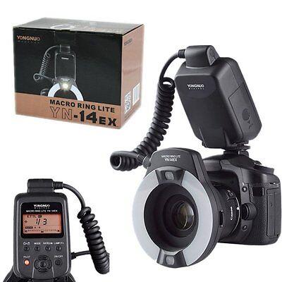 YONGNUO YN-14EX Macro Ring LITE Flash Light for Canon EOS DSLR Camera as MR-14EX, usado segunda mano  Embacar hacia Argentina