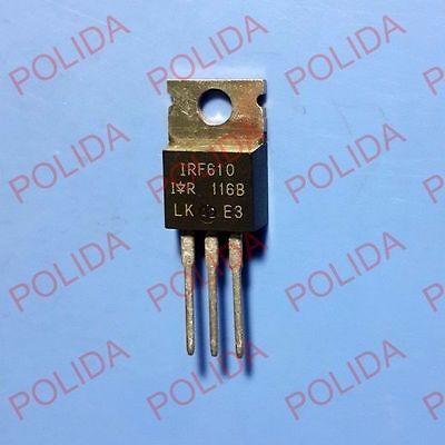 10pcs Mosfet Transistor Irvishaysiliconix To-220 Irf610 Irf610pbf