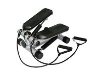 Fitness Stepper with resistance bands (foldable)