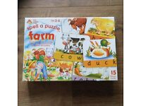 Early learning spell a puzzle