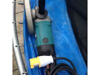 Makita angle grinder 110v excellent working condition!!!!
