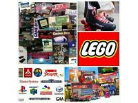 Wanted for Cash - Video games, toys, lego, book bundles and much more