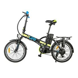 ACORN CYCLES ; E-LIFE ELECTRIC FOLD-UP BIKE NOW IN STOCK 15mph
