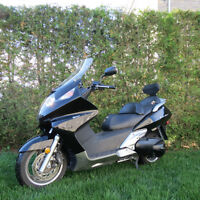 Scooter Silver Wing