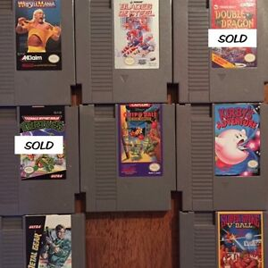NES GAMES FOR SALE!