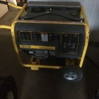 Wacker generator with Honda engine