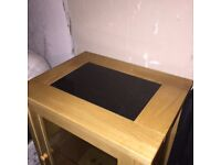 Sold pine with granite top