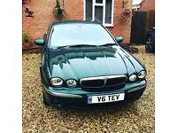 JAGUAR X TYPE 2.1 V6 PETROL WITH PRIVATE PLATE