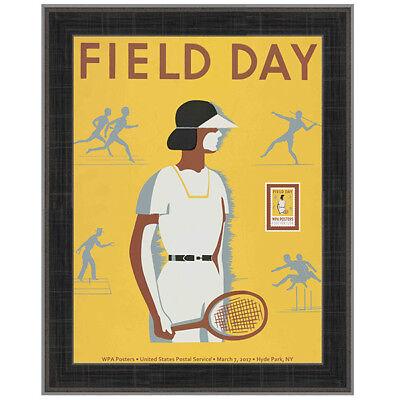 USPS New WPA - Field Day Framed Art