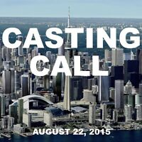 Music Video Casting Call (August 22nd, 2015)