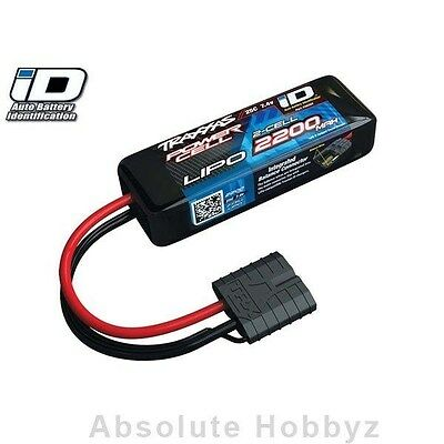 Traxxas 2S Power Cell 25C Li-Poly Battery w/iD Traxxas Connector (7.4V/2200mAh)