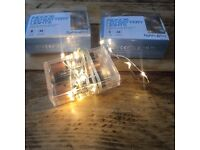 3 x packs of indoor LED lights. Perfect for Wedding!