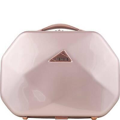 "Kensie Luggage Gemstone 13"" Beauty Case Rose Gold KN-47213-PA-RG"