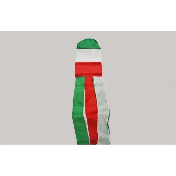 ITALY FLAG WINDSOCK 5FT 150cm - Italian Banner For Telescopic Pole