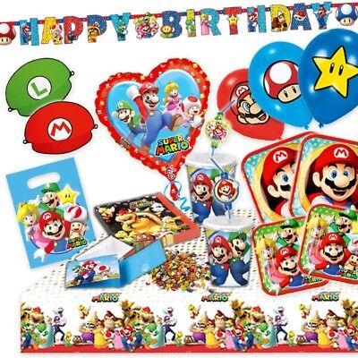 o Sets, Mitgebsel, Kindergeburtstag Themen (Super Mario Theme)