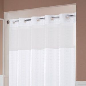 Hookless Shower Curtains for Hotels & Motels