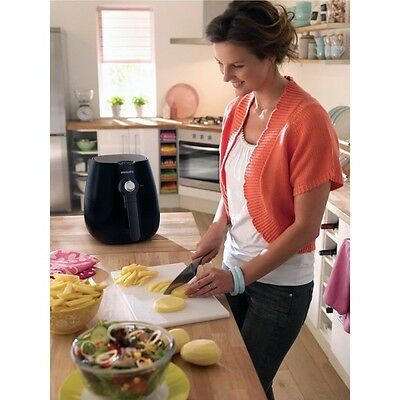 Philips HD9220 Black Viva Collection Airfryer w/ith ...