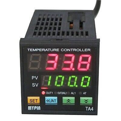 Dual Digital Fc Pid Temperature Controller Thermostat Ta4e-rnr 12v Dck Sensor