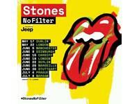 Rolling Stones x6 seated tickets Edinburgh 9/6/2018