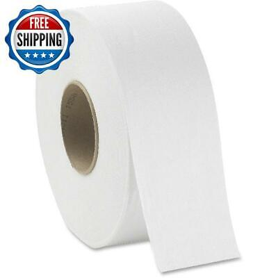 Toilet Paper Bath 1000 Ft Per Roll Jumbo Tissue Bathroom White Premium 8 Pack