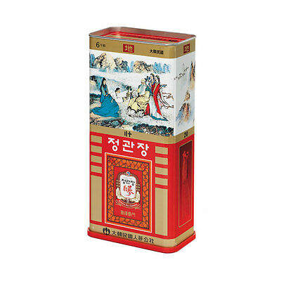 CHEONG KWAN JANG 6yr Old Korean Red Ginseng EARTH Grade Canned 600g 30 Roots 地蔘