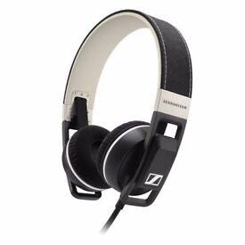 Sennheiser Urbanite Black On Ear Headphones BRAND NEW INCLUDING TWO YEARS MANUFACTURERS WARRANTY