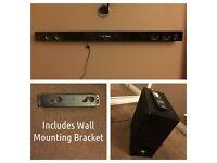 LG Smart NB3730A 300W Bluetooth Surround Sound Soundbar + Wireless Subwoofer