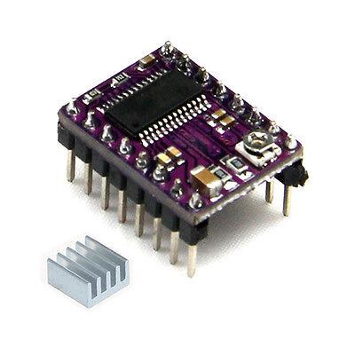 Arduino Drv8825 Stepper Motor Driver Moduleheatsink 3d Printer Reprap Stepstick