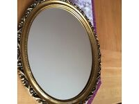 Shabby chic mirror 17.5 X 21 inches