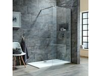WALK IN WETROOM SHOWER PANEL SCREEN - 2 AVAILABLE
