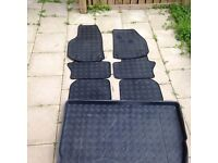 Zafira B leather car mats and boot liner