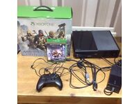 Xbox one 500gig inc game controller boxed