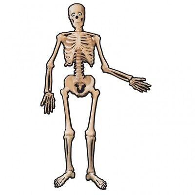 HALLOWEEN Skelett hänge Deko Papp Skelett Grusel Dekoration