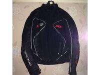 Men's motor bike jacket