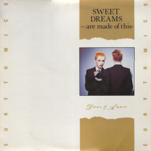 "Eurythmics - Sweet Dreams - Vintage 12"" 45 RPM Vintage Vinyl"
