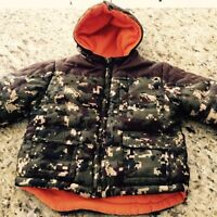 Boys fleece lined jacket size 4