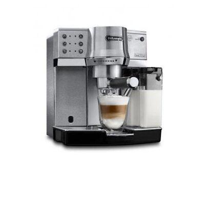 DeLonghi EC 860.M Siebträger Espressomaschine silber abnehmbarer Milchbehälter