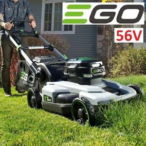 "NEW EGO CORDLESS LAWNMOWER 21"" LM2102SP 195058220 56V LITHIUM ION SELF PROPELLED MOWER WITH BATTERY AND CHARGER"