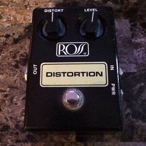 Vintage Ross Distortion Pedal
