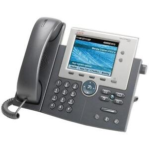 Cisco Unified IP Phone 7945G - Colour Display - Back-Lit Line Buttons - CP-7945G - Used