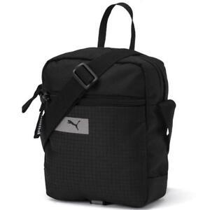 c422bbfc24 Puma VIBE Portable Black Organizer Shoulder Mini Bag Unisex Men Women Sports