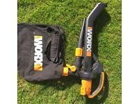Worx Blower/Vacuum/Mulcher in excellent condition
