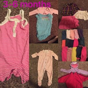 Baby girl clothes 3 - 12 months