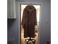 Fur coat ( fake fur )