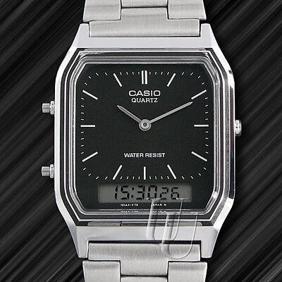 Casio Classic, Retro-Style Uhr,Weltzeit, Alarm, AQ-230A,Analog, Digital Casio Uhr Alarm